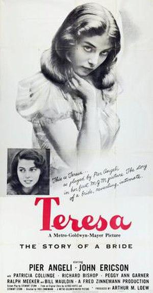 Teresa (1951 film) - Theatrical release poster