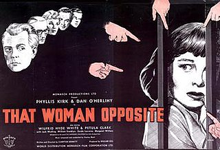 <i>That Woman Opposite</i> 1957 film by Compton Bennett
