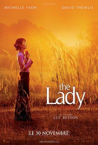 The Lady (2011 film) - Theatrical poster