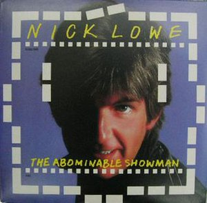 The Abominable Showman - Image: The Abominable Showman Album Cover UK