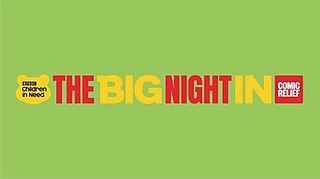 <i>The Big Night In</i> 2020 UK telethon for COVID-19 pandemic
