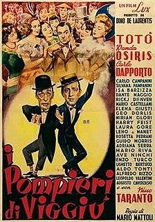 <i>The Firemen of Viggiù</i> 1950 film by Mario Mattoli