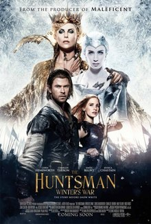 The Huntsman Winters War  (2016) DM - Chris Hemsworth, Jessica Chastain, Charlize Theron