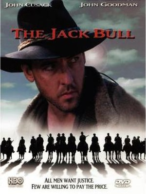 The Jack Bull - Front DVD cover.