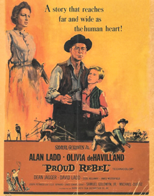 The Proud Rebel - Theatrical release poster