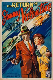 The Return Of Jimmy Valentine Poster