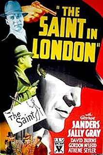 <i>The Saint in London</i> 1939 film by John Paddy Carstairs