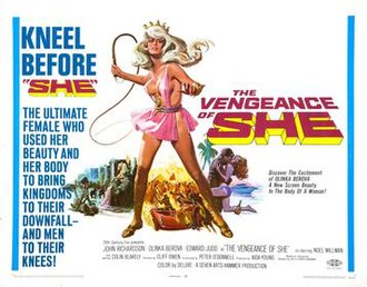 The Vengeance of She - Theatrical release poster