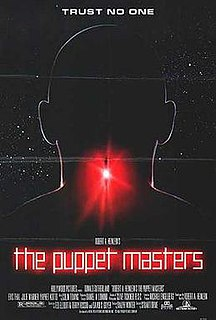 <i>The Puppet Masters</i> (film) 1994 science fiction film directed by Stuart Orme