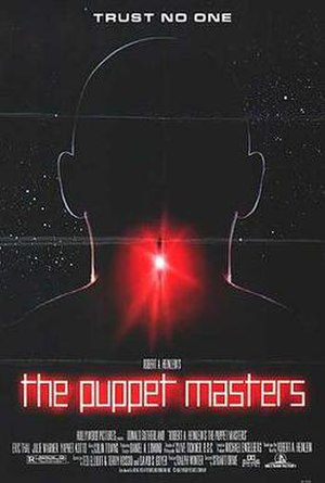 The Puppet Masters (film) - Theatrical release poster