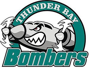 Thunder Bay Bombers - Image: Thunder Bay Bombers