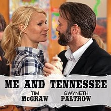 Tim McGraw & Gwyneth Paltrow - Me And Tennessee single.jpeg
