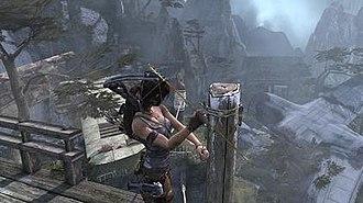 Tomb Raider (2013 video game) - Image: Tomb Raider 2013 screenshot