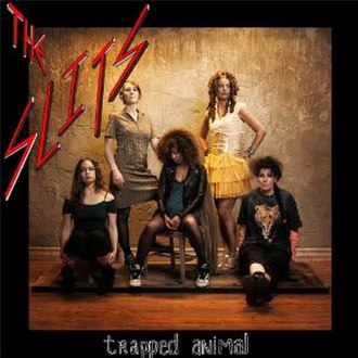 Trapped Animal - Image: Trapped Animal (The Slits album)