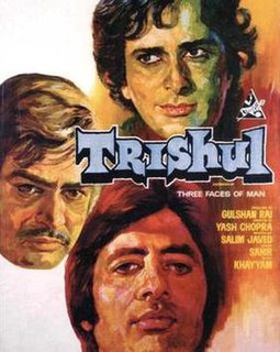 <i>Trishul</i> (film) 1978 Hindi film directed by Yash Chopra