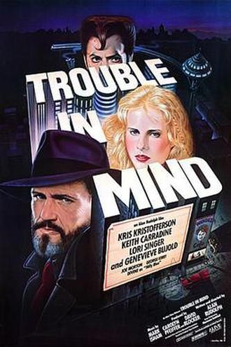 Trouble in Mind (film) - Theatrical release poster