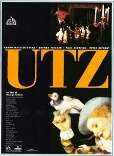 <i>Utz</i> (film) 1992 film by George Sluizer
