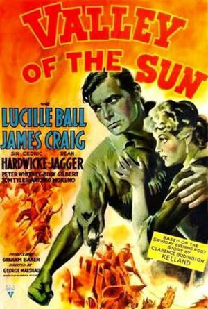 Valley of the Sun (film) - Theatrical release poster