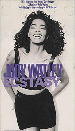 Ecstasy (Jody Watley song) - Image: Watley Ecstasy