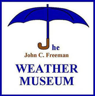 John C. Freeman Weather Museum - Image: Weathermuseumlogo
