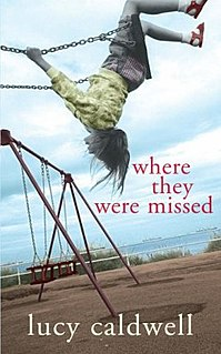 <i>Where They Were Missed</i> book by Lucy Caldwell