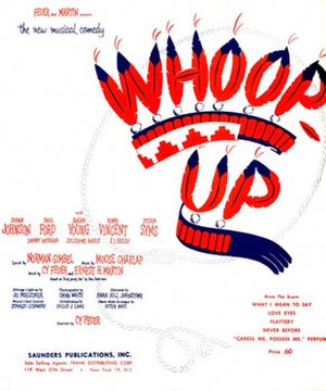 Whoop-Up - Page from sheet music (cropped)