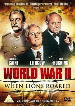 World War II: When Lions Roared - UK DVD Cover art