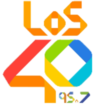 XHAGA-FM - Image: XHAGA Los 4095.7 logo