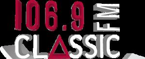 XHPJ-FM - Image: XHPJ classic FM106.9 logo