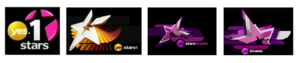 Yes Drama - The past logos of yes Drama (From left to right): yes stars 1 - from March 4, 2007 and until March 13, 2008. yes stars 1 - from March 14, 2008 and until December 13, 2008. yes stars Drama - from December 14, 2008 and until August 19, 2010. yes Drama - From August 20, 2010 and until January 20, 2012.