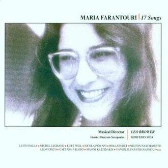 17 Songs (Maria Farantouri album) - Image: 17 Songs (Maria Farantouri album)