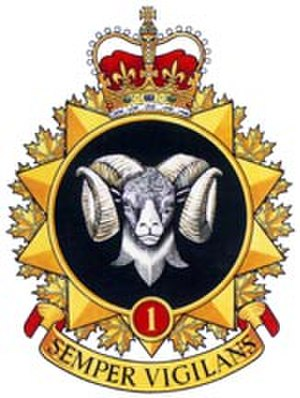 1 Canadian Mechanized Brigade Group - Badge of 1CMBG