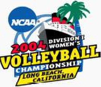 2004 NCAA Division I Women's Volleyball Tournament - 2004 NCAA Final Four logo
