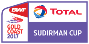 2017 Sudirman Cup - Image: 2017 Sudirman Cup logo