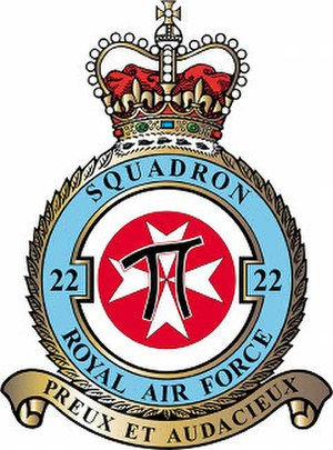 No. 22 Squadron RAF - 22 Squadron badge