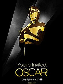 Official poster promoting the 83rd Academy Awards in 2011.