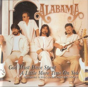 (God Must Have Spent) A Little More Time on You - Image: Alabama.godmusthaves pentalittlemoretimeo nyou