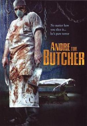 Andre the Butcher - Image: Andre the Butcher DVD cover art