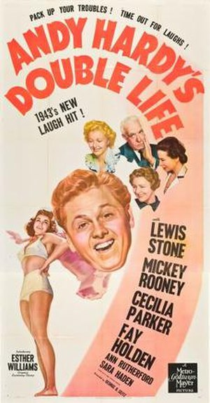 Andy Hardy's Double Life - Image: Andy Hardy's Double Life Film Poster