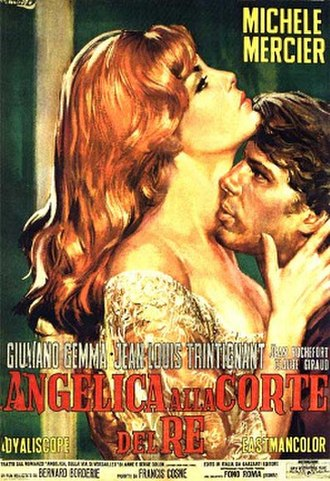 Angelica and the King - Italian poster