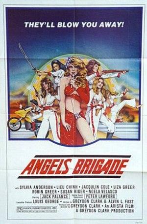 Angels Revenge - One-sheet for Angels Brigade