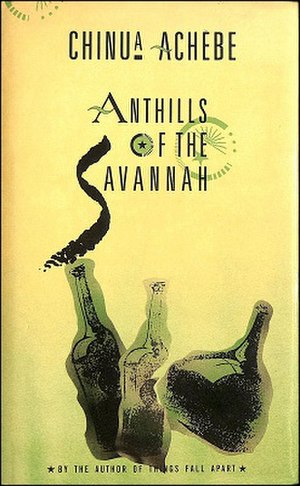 Anthills of the Savannah - First edition cover