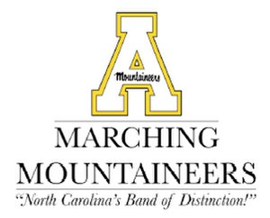 Appalachian State University Marching Mountaineers - Image: Appalachian State BOD