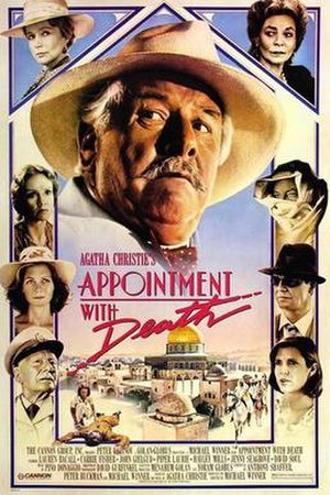 Appointment with Death (film) - Original cinema poster