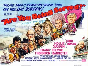 Are You Being Served? (film) - Are You Being Served? British quad poster