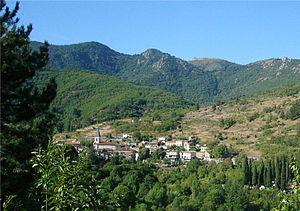 Arrigas - A general view of Arrigas