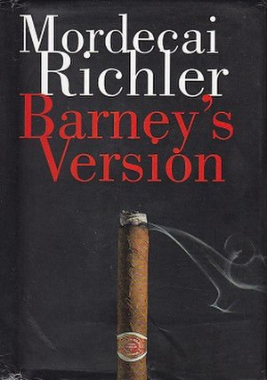 Barney's Version (novel) - First Canadian edition cover