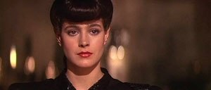 Replicant - Rachael, a replicant played by Sean Young in the 1982 film