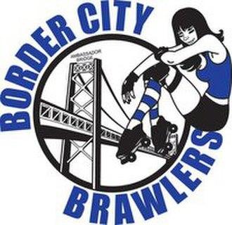 Border City Brawlers - Image: Border City Brawlers logo