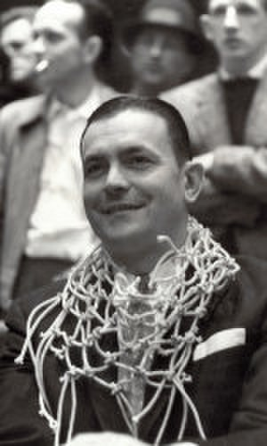 Bud Millikan - Millikan after the 1958 ACC tournament championship